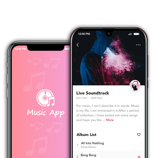 On-demand Music Streaming App