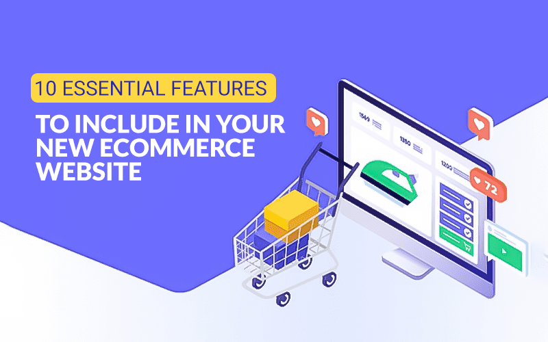 Features to include in ecommerce web