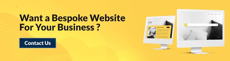 Bepsoke Website development