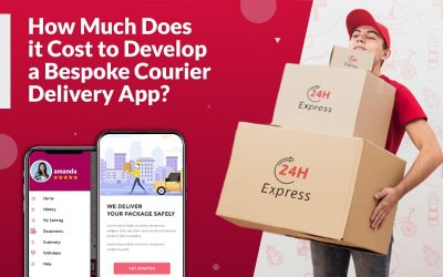 How Much Does it Cost to Develop a Bespoke Courier Delivery App