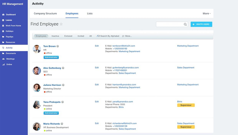 Human Resource Management-Software Development Company